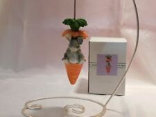 """Charming Tails Bunny & Carrot Ornament """"I'M Full"""" by Dean Griff"""