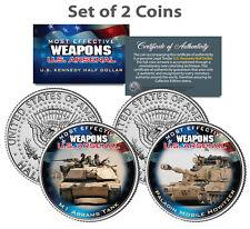 U.S. WEAPONS ARSENAL TANKS JFK Kennedy Half Dollars U.S. 2-Coin Set