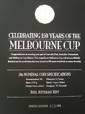 Melbourne Cup 1861 -2010 Horse Racing Limited Edition 413/500 Australian Mint