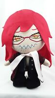 Anime The Black Butler Grell Sutcliff Plush Doll 12'' Inch FREE SHIPPING!