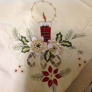 "Christmas Tablecloth.""HOGMANAY""New Decorative."