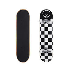 """Cal 7 Popsicle 7.5"""" Double Kicktail Concave Maple 7 Ply Checkerboard Skateboard"""
