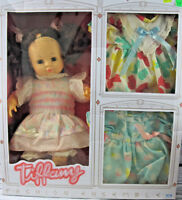 Cititoy 1990 Tiffany Fashion Ensemble Doll + Dresses - Damaged