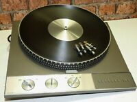 Garrard 401 Vintage Hi Fi Separates Use Record Vinyl Deck Player Turntable