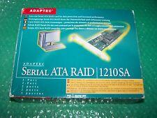 Adaptec 1210SA SATA PCI  RAID Controller Card with cables