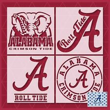 Alabama Crimson Roll Tide stencil - Reusable & Durable - 10 mil - Free Shipping