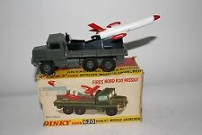 1960's Dinky #620 Berliet Missile Launcher, Boxed