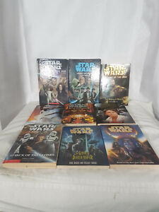 Star Wars Schoolastic Book Lot of 9