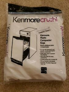 New Kenmore Crush 13370 Plastic Compactor Bags (10) Pack