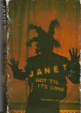 Janet  Jackson Got 'Til It's Gone CASSETTE SINGLE feat. Q-Tip  Joni Mitchell 