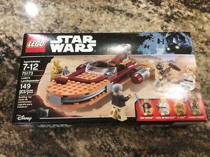 Disney LEGO Star Wars 75173 LUKE'S LANDSPEEDER Ben Kenobi Tuskegee Raider C-3PO
