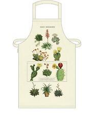 Cavallini - 100% Coton Vintage Tablier - 48x80cms - Cactus/Cactus/Plantes