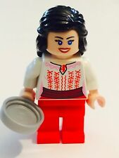 *NEW* Lego Minifig Indiana Jones MARION RAVENWOOD Red White CAIRO Outfit 7195