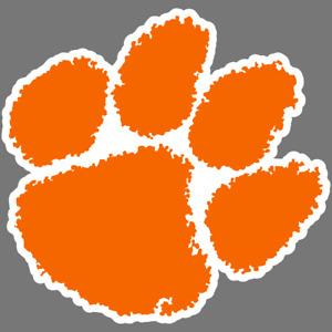 Clemson Tigers NCAA Football Vinyl Sticker Car Truck Window Decal Laptop