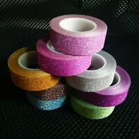 10M Glitter Tape Water Resistent Sticker DIY Sticky Craft Wrap Self Adhesive