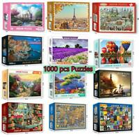 1000 Pieces Children Adult Kids Puzzles Educational Toy Decor Jigsaw Puzzle Gift