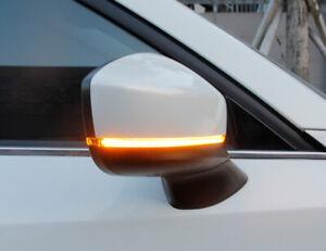 For Mazda CX-8 / CX-9 LED Dynamic Turn Signal Light Rear Mirror Indicator 18-19