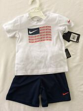 Nike Size 24M Just Do It Two Piece Outfit Set Baby Toddler Clothes Box E