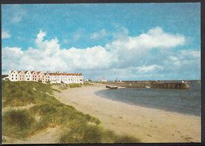 Channel Islands Postcard -  Braye Bay and Old Harbour, Alderney   J758