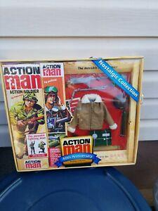 Action man action figure Grigio GUN Blue TIP Spara missile 12cm design moderno