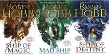 Robin Hobb LIVESHIP TRADERS Fantasy Trilogy Paperback Collection Set Books 1-3