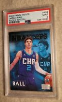 2020-21 Panini NBA Hoops Rookie Special #RS2 LaMelo Ball Hornets RC PSA 9