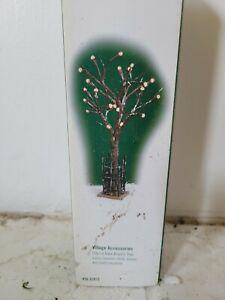 Dept 56 City Lit Bare Branch Tree #52973 New