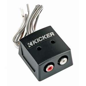 Kicker 46KISLOC K-Series 2-Channel Speaker Wire-to-RCA Line Output Converter