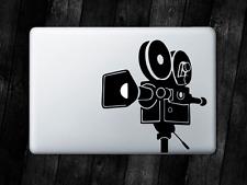Cinema Camera Sticker Movie Film Decal For Apple MacBook Mac iPad Laptop Car