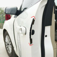 4x Car Door Edge Scratch Anti-collision Protector Guard Strip Accessories Black
