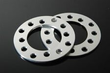 (2) CNC 5mm Wheel Spacers Adapters For 5X114 5 Lug Ford Mustang Probe Fusion