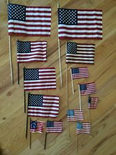 Independence Day * July 4 * American Flags (13 count) and Placemats (four count)