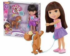 DOLL TRAIN AND PLAY DORA AND DOG PERRITO  - FISHER PRICE