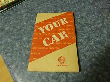 VINTAGE YOUR CAR - A SHELL PUBLICATION