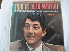 THIS IS DEAN MARTIN! VINYL LP CAPITOL RECORDS DT 1047, DUOPHONIC