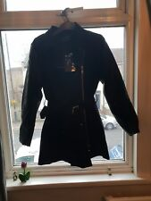 Ladies Jacket With Faux Leather Sleeves black Euro size 42