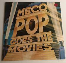 Meco LP Pop Goes The Movies SEALED ORIGINAL