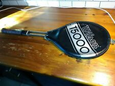 Wilson T5000 Vintage Steel Tennis Racquet 4-1/2 Hand Grip & Racket Case