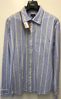 """Paul Smith STRIPE SHIRT CLASSIC FIT Size XL Pit to Pit 24"""""""