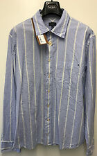 Paul Smith STRIPE SHIRT CLASSIC FIT Size XL Pit to Pit 24""