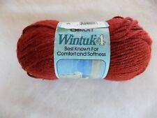 Copper Caron Wintuk 4 100% Monsanto Acrylic Worsted Weight Yarn 3.5 oz Skein