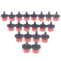 20PC Adjustable Micro Drip Irrigation System Watering Sprinklers Garden Suppl SE