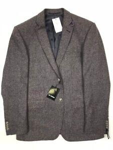 Roy Robson - Brown Tweed Jacket - 50/UK40 - *NEW WITH TAGS* RRP £250
