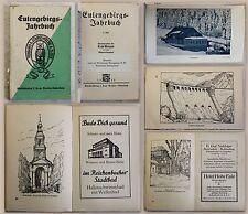 Weijand Eulengebirgs-Jahrbuch 3. Heft 1928 Landeskudne Bielawa Polen Schlesien