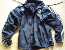 ADIDAS CHELSEA TRAINING TOP / WIND CHEATER / L 42/44 INCH CHEST / HOODED / CHE