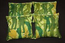 GOLF Cornhole Bean Bags Set of 4 ACA Regulation Golfer Tee Off Corn Toss Bags