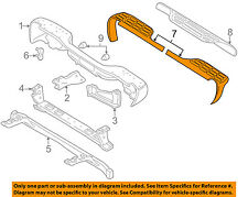 GM OEM Rear Bumper-Step Pad Protector Scratch Guard Cover Left 15738017