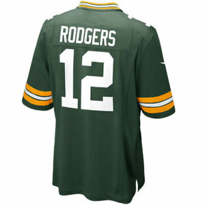 Aaron Rodgers Green Bay Packers Nike Youth Green Game Jersey