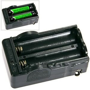 Digital Smart Charger for 2 x 18650 Rechargeable Li-Ion Battery