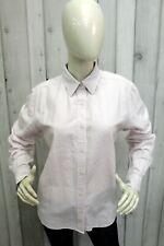 TOMMY HILFIGER Camicia Donna Taglia XL Cotone Shirt Casual Chemise Manica Lunga